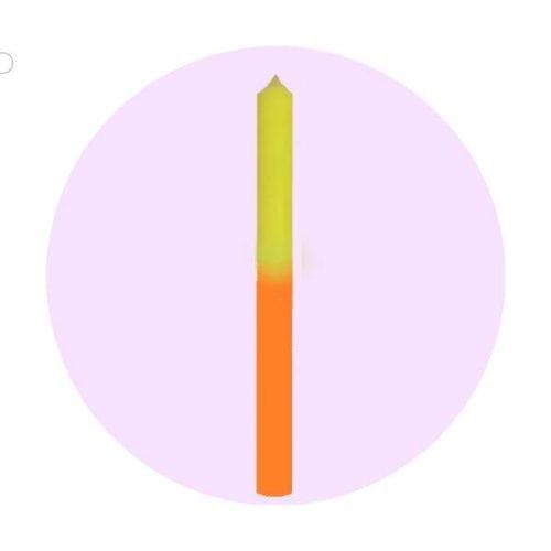 vela-bicolor-amarillo-naranja