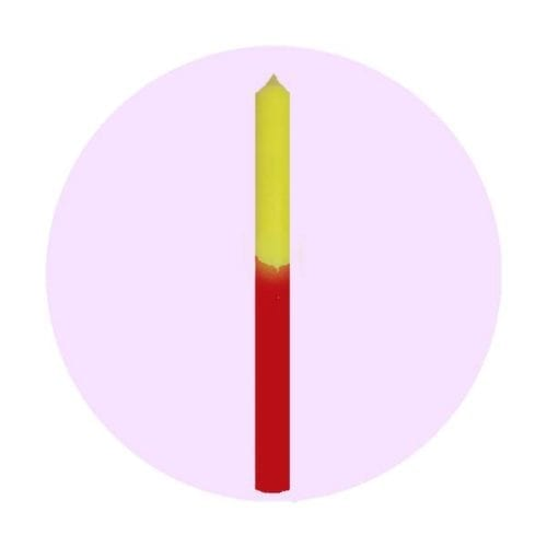vela-bicolor-amarillo-rojo