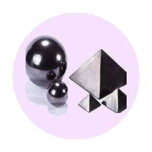 Shungit - Esferas, Pirámides...