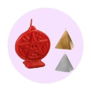 Velas Rituales - Formas